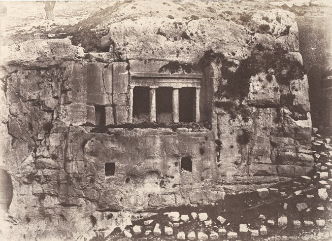 A._Salzmann_-_Tomb_of_St._James,_Valley_of_Josaphat,_Jerusalem