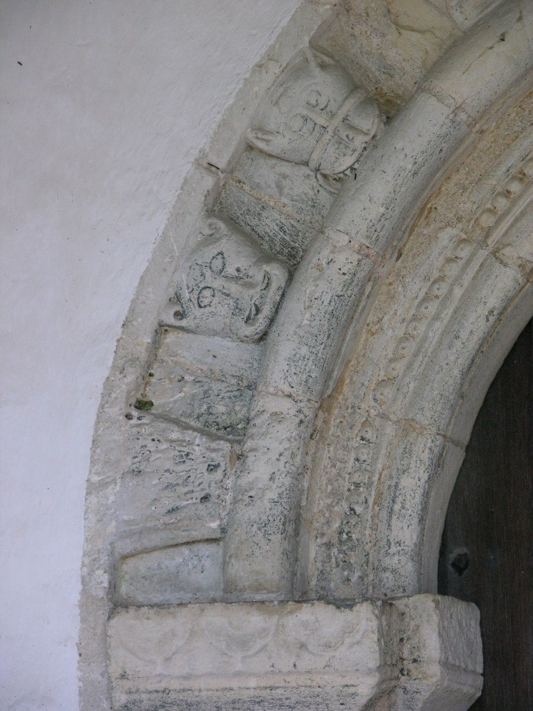 St Andrew, Wissett south doorway